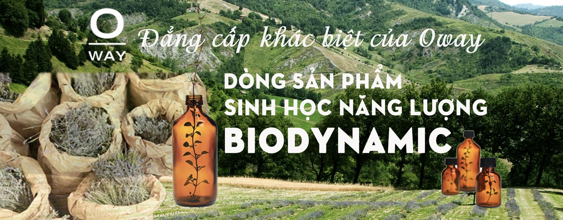 Đẳng cấp khác biệt của Oway – dòng sản phẩm Sinh học năng lượng Biodynamic