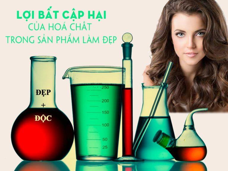 Lợi bất cập hại của hoá chất trong sản phẩm làm đẹp cho tóc